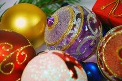 Esferas do Natal imagem de stock