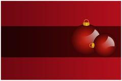 Esferas do Natal Imagens de Stock