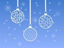 Esferas do Natal Fotografia de Stock Royalty Free