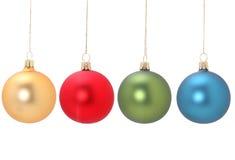 Esferas do Natal Foto de Stock Royalty Free