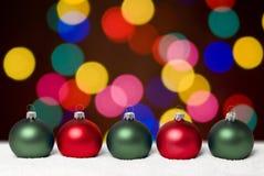 Esferas do Natal. Fotografia de Stock