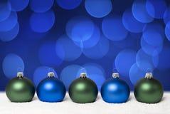 Esferas do Natal. Imagem de Stock