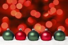 Esferas do Natal. Foto de Stock