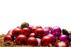 Esferas do Natal Fotografia de Stock