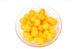 Esferas do queijo Imagem de Stock