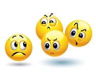Esferas do smiley Imagem de Stock Royalty Free