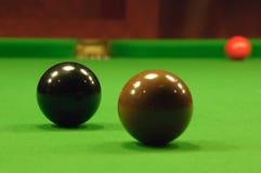 Esferas do Snooker Foto de Stock