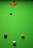Esferas do Snooker Foto de Stock Royalty Free