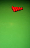 Esferas do Snooker Fotos de Stock Royalty Free