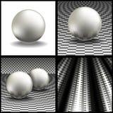 Esferas do volume Foto de Stock