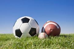 Esferas dos esportes Fotos de Stock