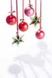Esferas e estrelas Imagem de Stock Royalty Free