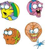 Esferas feias Imagem de Stock
