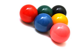 esferas a jogar imagem de stock