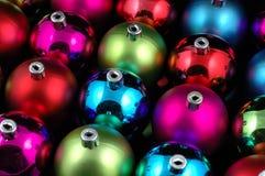 Esferas Multi-color do Natal Fotos de Stock