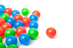 Esferas plásticas coloridas Imagem de Stock Royalty Free