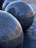 Esferas pulidas imágenes de archivo libres de regalías