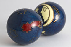 Esferas V1 do ferro de Boading Foto de Stock
