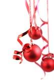 Esferas vermelhas foto de stock royalty free