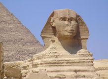 The Esfinge. This is The Esfinge from Egypt Stock Photography