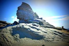 Esfinge de Bucegi imagen de archivo