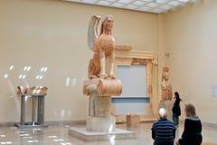 Esfinge de Naxos Fotos de archivo libres de regalías