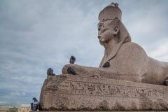 Esfinge egipcia Imágenes de archivo libres de regalías