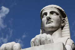 Esfinge egipcia imagen de archivo libre de regalías