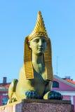Esfinge egipcia antigua Fotos de archivo