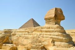 Esfinge em Egipto Fotografia de Stock