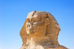 Esfinge en Egipto Foto de archivo libre de regalías