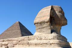 Esfinge en El Cairo imagen de archivo