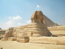 Esfinge en Giza Foto de archivo