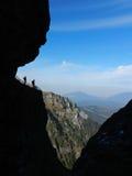 esfinge escondida da montanha Fotos de Stock