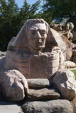 A esfinge no jardim da escultura de Gilgal foto de stock