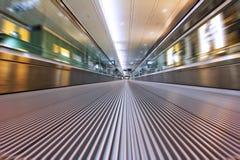 Esforço da escada rolante Imagem de Stock