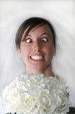 Esforço da noiva Imagem de Stock