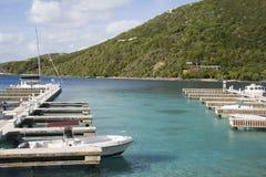 Esfregue a ilha Fotos de Stock Royalty Free
