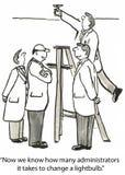 Esfuerzo de grupo stock de ilustración