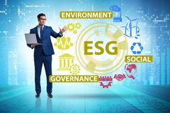Free ESG Concept As Environmental And Social Governance With Business Royalty Free Stock Image - 188723316