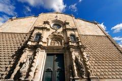 Esglesia de Betlem - Barcelona Spain Stock Photo
