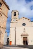 Esglesia De Calafell Cathédrale catholique Image stock
