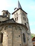 Esglesia de l Assumpcio de Maria , Bossost ( Lleida ) Stock Photography
