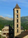 Esglesia de Santa Eulalia, Erill-La-Vall (Espagne) Photo stock