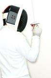 Esgrimista 5 Foto de Stock Royalty Free