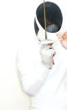 Esgrimista Fotografia de Stock