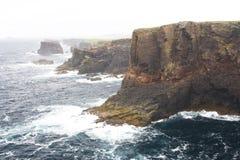 Eshaness Cliffs, Shetlands Royalty Free Stock Photography