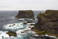 Eshaness Cliffs, Shetlands Stock Photography