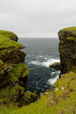 Eshaness Cliffs, Shetlands Stock Image