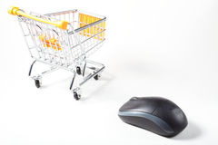 EShopping Royalty Free Stock Photo